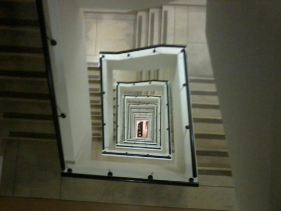 Adderley Hotel : Stairwell in Adderly, but dont worry there is an elevator