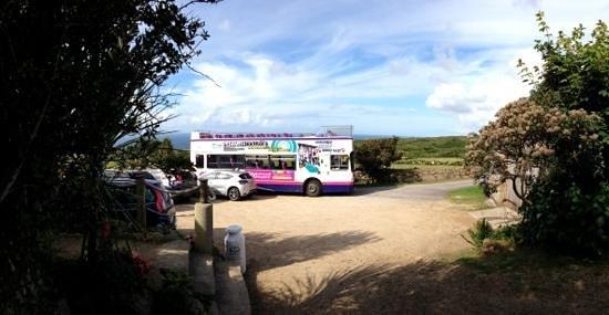 Rosemergy Farmhouse Cream Teas: 300 First bus popped in!