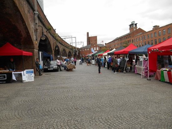Castlefield Urban Heritage Park: Event - Art & Craft and Food