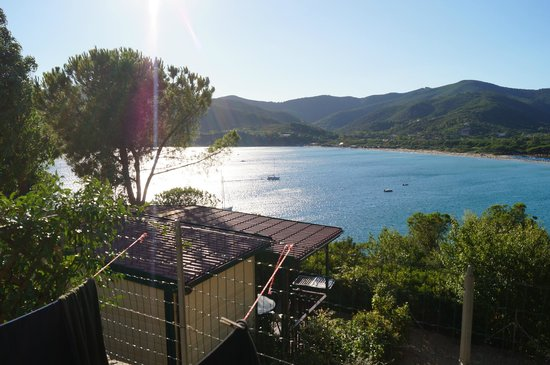 Stella Mare Camping Village: view from the chalet