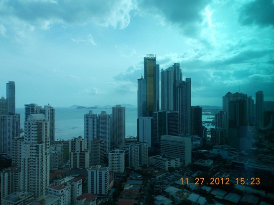 Hotel Riu Plaza Panama: View from the Penthouse Suite