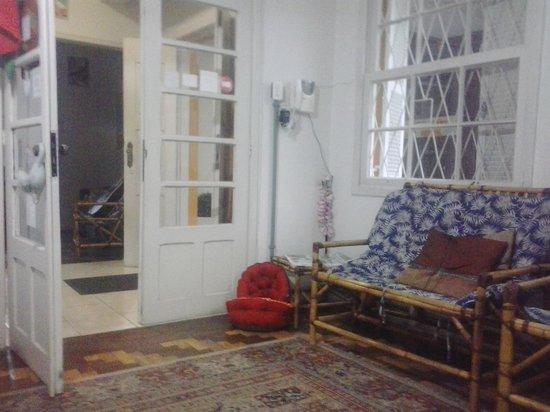 Hostel Porto Do Sol: Recepção