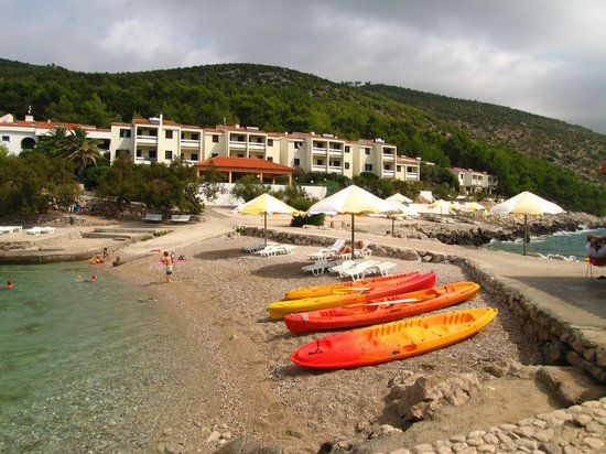 Hotel Priscapac Resort & Apartments : la spiaggia