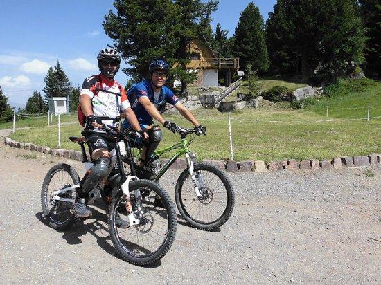 Albergo Panorama: Mountainbike tour