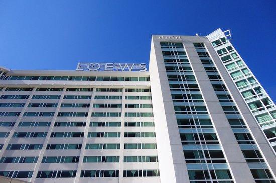 vue du 17 me picture of loews hollywood hotel los. Black Bedroom Furniture Sets. Home Design Ideas