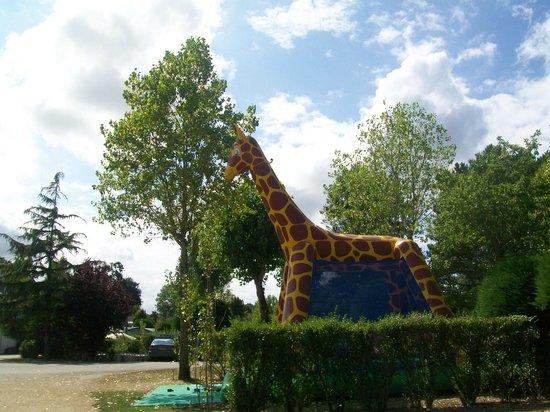 Camping Le Moulin de Kermaux : la girage gonflabe