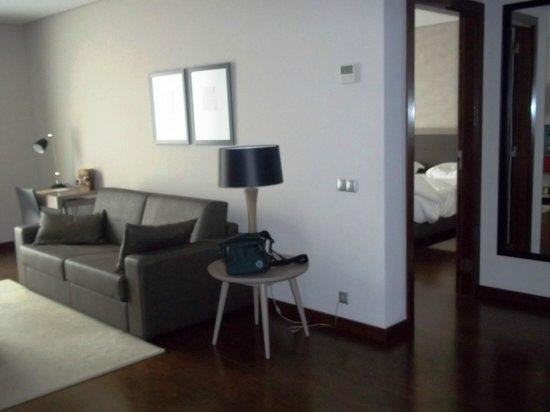 Hotel Villa Batalha : soggiorno della suite