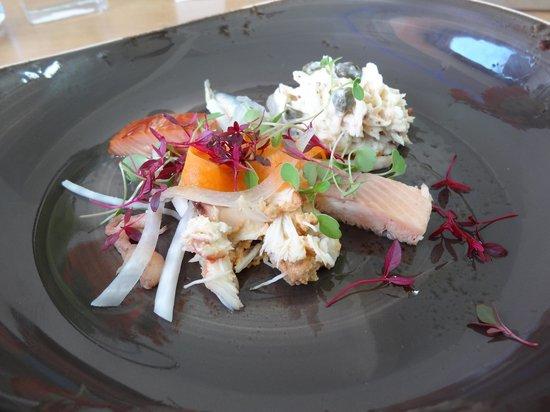 Verveine Fishmarket Restaurant: seafood salad starter