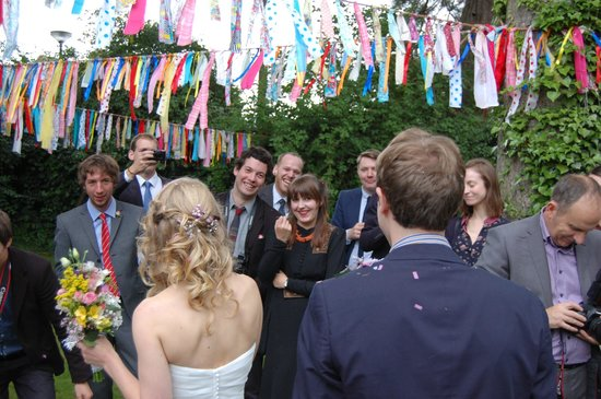 The Priory: Celebrations in the garden