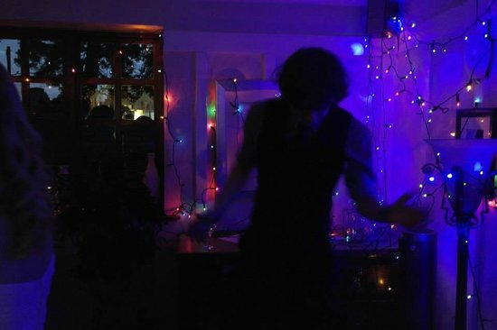 The Priory: The dance floor in the evening