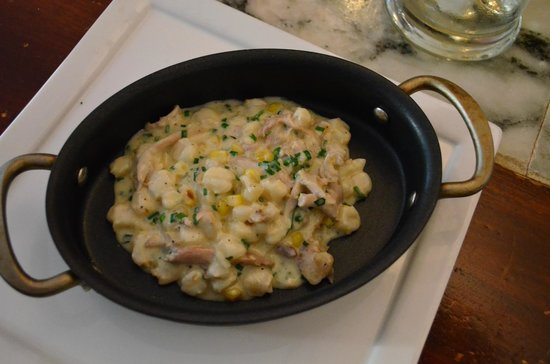Belmont Food Shop: Braised Rabbit with Hominy and Corn