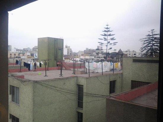 Carmel Hotel: view from one window
