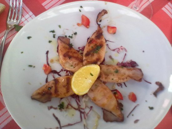 Hotel Ristorante Principe Decurtis: piatto di mare