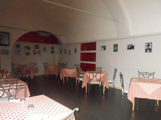 Hotel Ristorante Principe Decurtis: sala interna ristorante