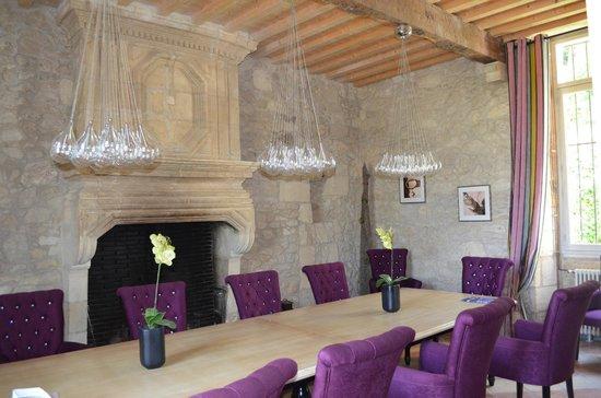 Chateau de Courtebotte: La salle à manger du château
