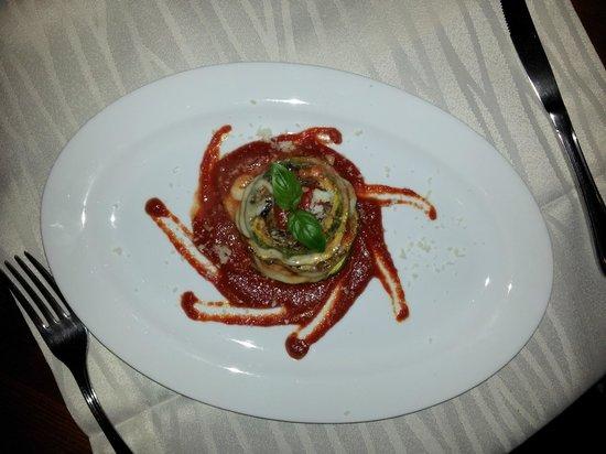 Osteria Il Bertoldo: Parmigiana di melanzane? Comunque sublime!