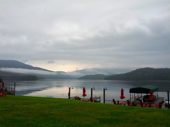 Lake Placid Lodge: morning on lakeplacid