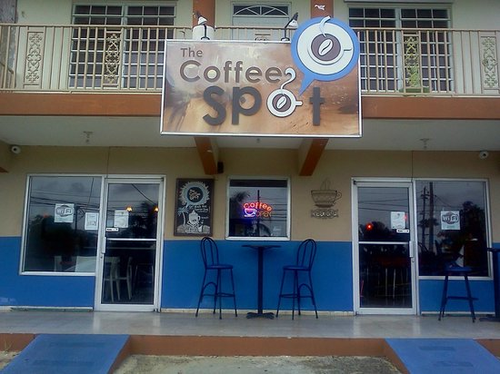 The Coffee Spot : outside view