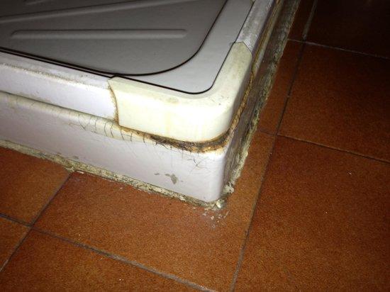 Hotel Astra : Dusche