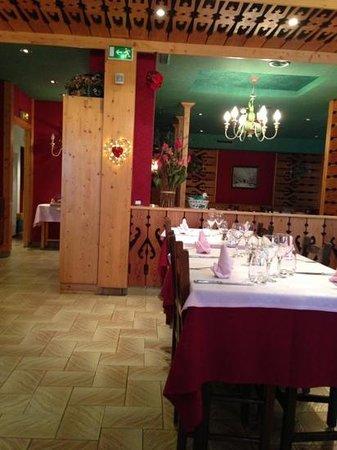 Le Souleil'Or : sala da pranzo