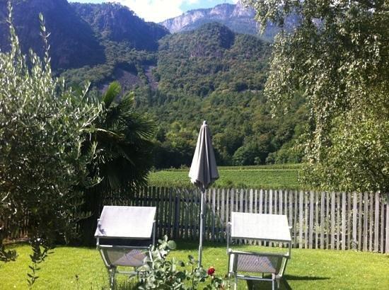 Hotel Weingut Stroblhof: zona relax immersa tra i vigneti