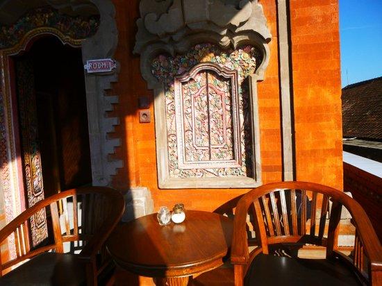 Kori Bali Inn: Terrace