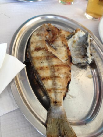 Ze do Peixe Assado: Dourada