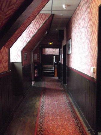 Best Western Hotel Montgomery: Corridoio interno hotel