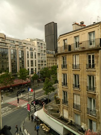 Atelier Saint-Germain : view from the window