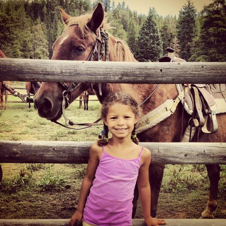 Tumbling River Ranch: A girl and her horse