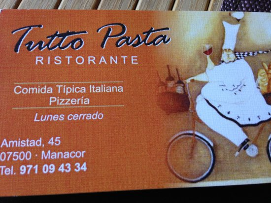 Tutto Pasta Ristorante : getlstd_property_photo