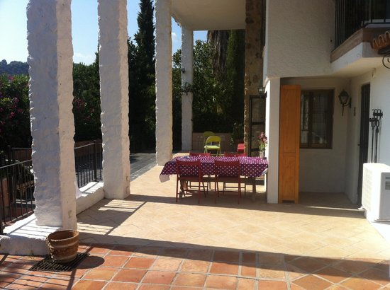 Jardines De La Reina Boutique Bed & Breakfast: Our terrace. 2