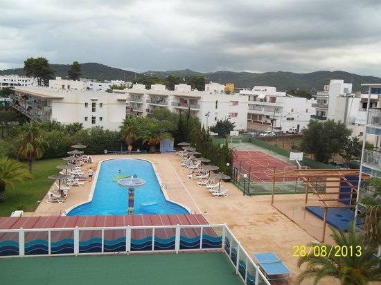 Apartahotel La Sirena: View from 3rd