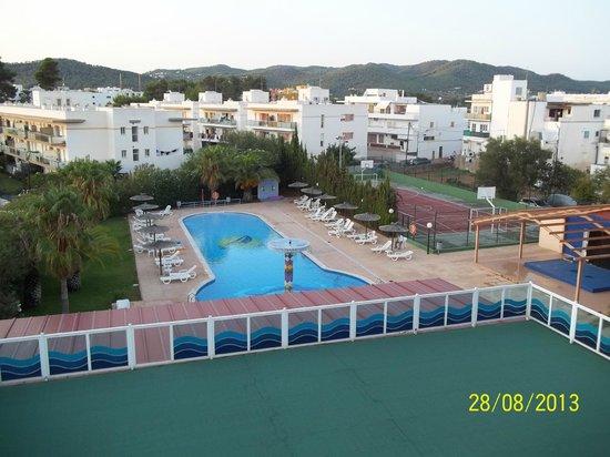 Apartahotel La Sirena: 3rd floor view