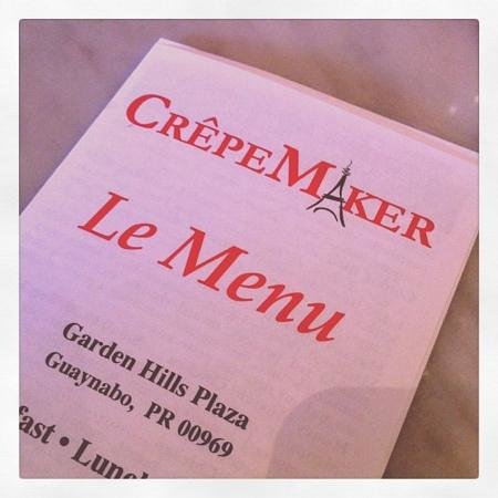 Crepemaker Plaza Real: great food