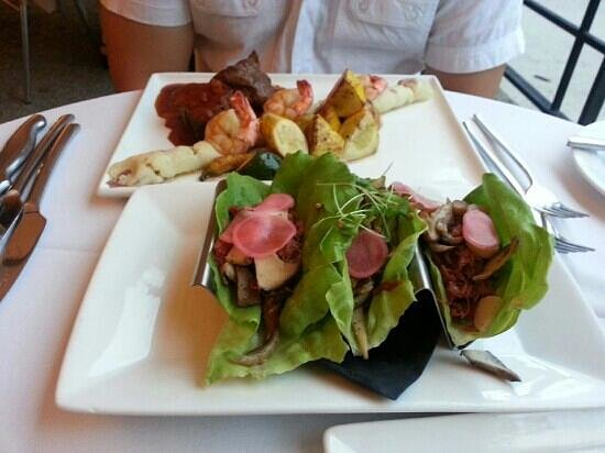 Le Cafe : 8for8:duck wrap
