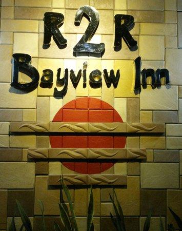 Coron R2R Bayview Inn: outside signage