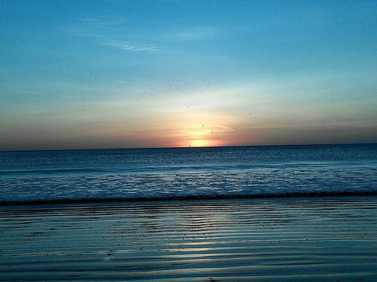 Guasacate Beach Popoyo beautiful sunset