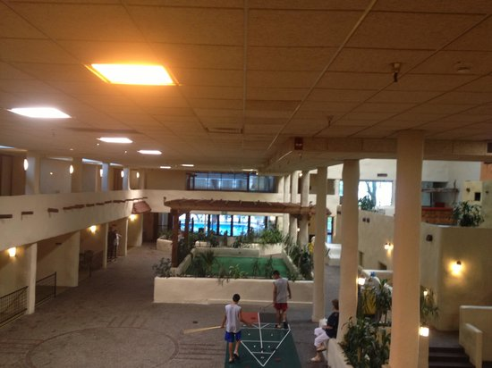 Best Western Plus Laporte Hotel & Conference Center: Stucco interior with pool area