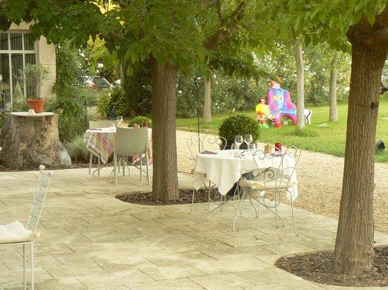La Bastide Rose : Terrasse