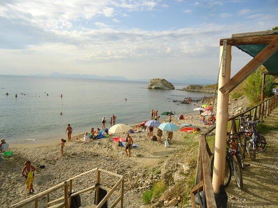 Agropoli, Italie : Spiaggia libera