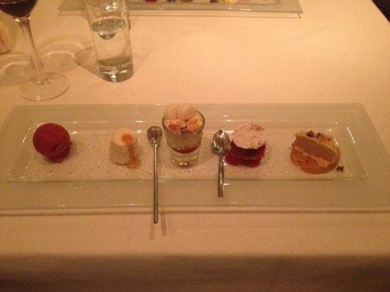 Presentation Dessert - 36 on the Quay