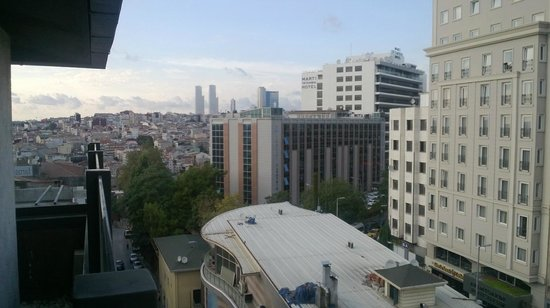 Faros Hotel Taksim: The view from the Suite 801