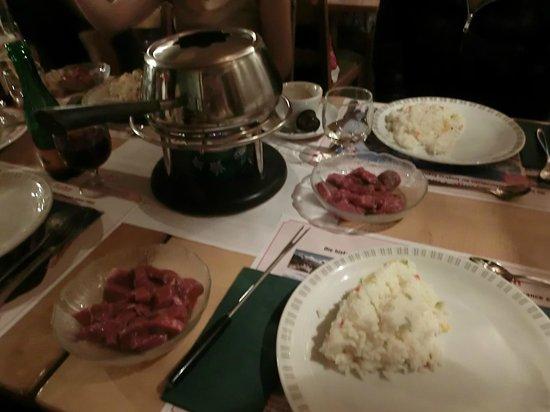 Hotel Crystal Interlaken: Dinner