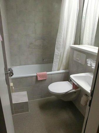 Hotel Crystal Interlaken: Bathroom