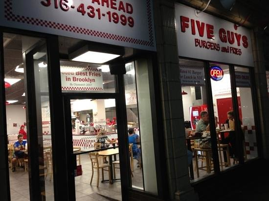 Five Guys : streetview