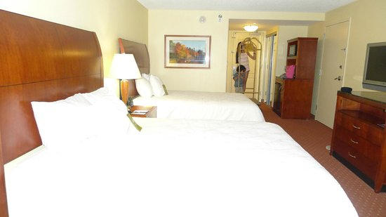 Hilton Garden Inn Roanoke Rapids: our room
