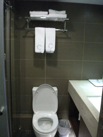 Casa Deluxe Hotel: Toilet