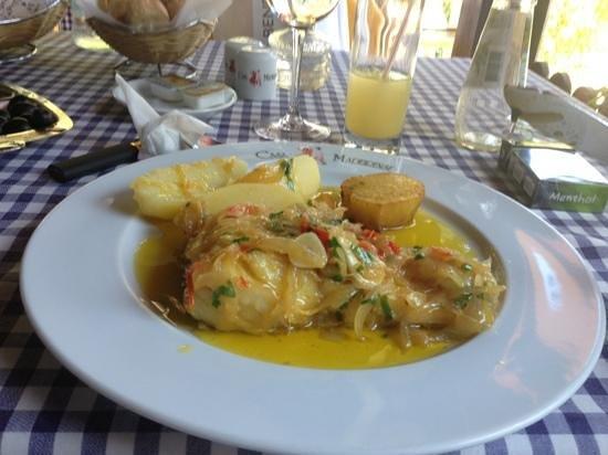 Casa Madeirense Restaurante : треска от шефа