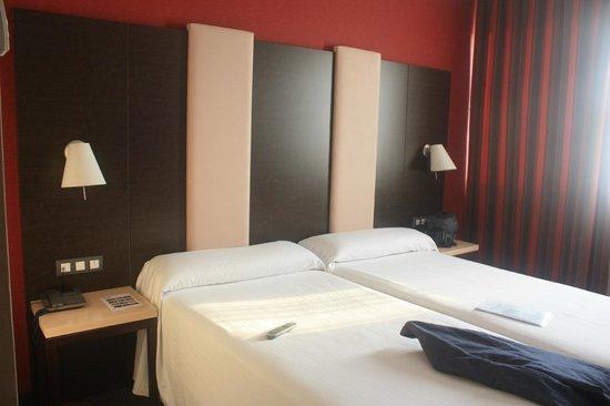 Hotel Agustinos: unser Zimmer